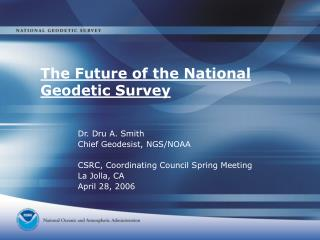 The Future of the National Geodetic Survey