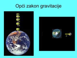 Opći zakon gravitacije