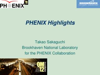 PHENIX Highlights