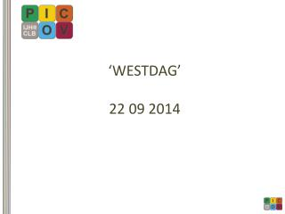 �WESTDAG� 22 09 2014