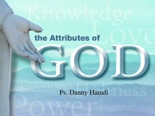 Ps. Danny Hanafi