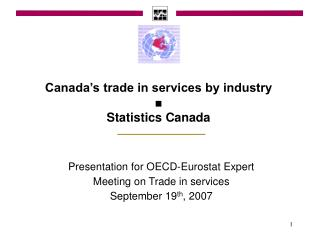 Canada's trade in services by industry ■ Statistics Canada