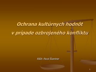 RSDr. Pavol Švantner