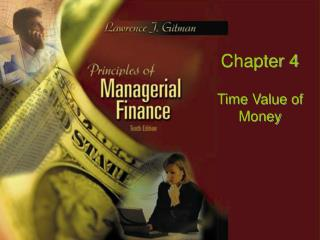 Chapter 4 Time Value of Money