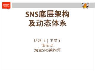 SNS 底层 架构 及动态体系