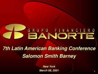 7th Latin American Banking Conference Salomon Smith Barney