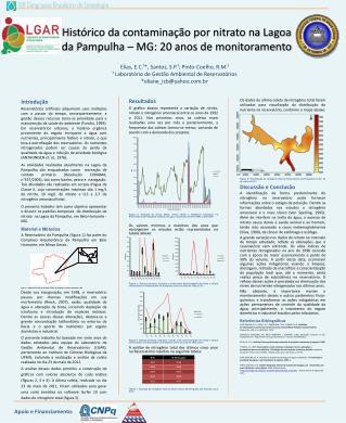 Histórico da contaminação por nitrato na Lagoa da Pampulha – MG: 20 anos de monitoramento