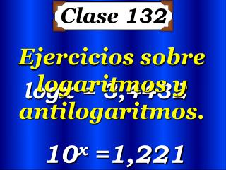 Clase  132
