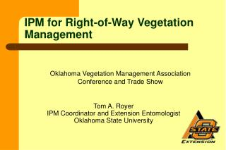 IPM for Right-of-Way Vegetation Management