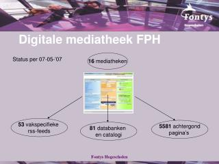 Digitale mediatheek FPH