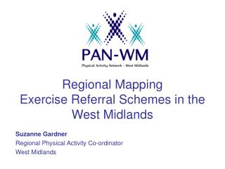 Regional Mapping Exercise Referral Schemes in the West Midlands