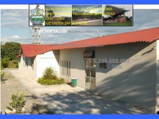 SECTOR SALUD:  UN SERVICIO EFICIENTE Y EQUITATIVO TOTAL INVERSION SECTOR SALUD $ 6.230.608.000