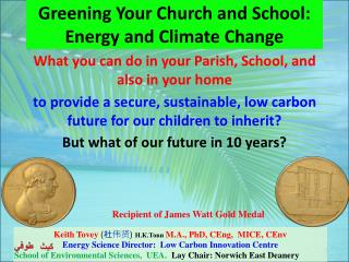 Greening Your Church and School: Energy and Climate Change