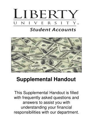 Supplemental Handout