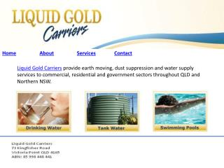 Liquid Gold Carriers
