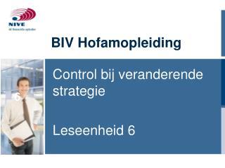 BIV Hofamopleiding