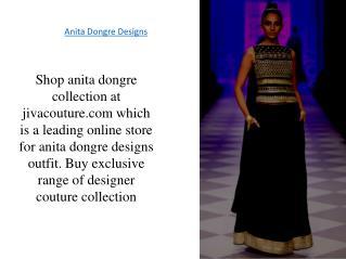 Anita Dongre Designs