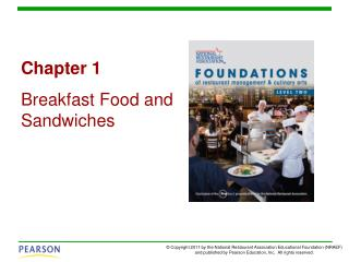 Chapter 1 Breakfast Food and Sandwiches