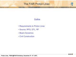 The FAIR Proton Linac