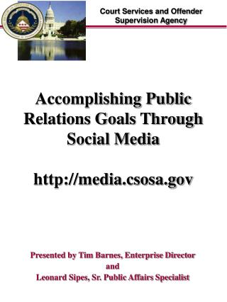 Accomplishing Public Relations Goals Through Social Media media.csosa