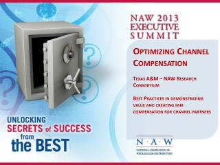 Optimizing Channel Compensation Texas A&M – NAW Research Consortium