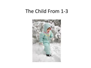 The Child From 1-3
