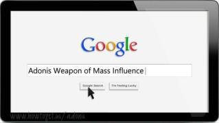 ppt-5664-Adonis-Weapon-of-Mass-Influence