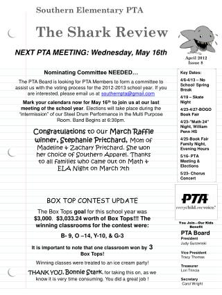 Southern Elementary PTA