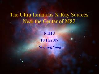 The Ultra-luminous X-Ray Sources Near the Center of M82