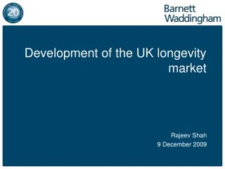 Development of the UK longevity market