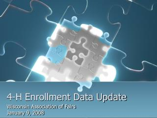 4-H Enrollment Data Update
