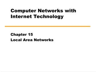 Computer Networks with Internet Technology