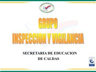 SECRETARIA DE EDUCACION DE CALDAS
