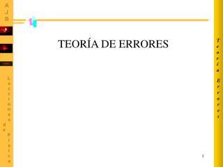 Errores