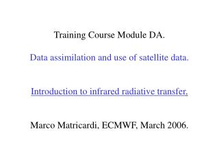 Why learn about radiative transfer