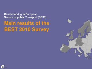 Benchmarking in European  Service of public Transport (BEST)