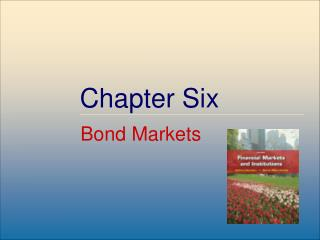 Bond and Bond Markets