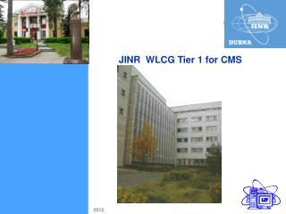 JINR  WLCG Tier 1 for CMS