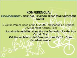 Eko-Mobilnost Conference Beograd ,  20/09/2013 PÁMER  Zoltán STRDA  Nonprofit  Ltd.
