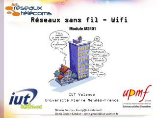 Réseaux sans fil - Wifi