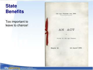 State Benefits