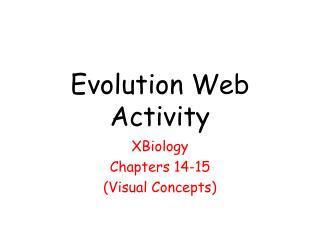 Evolution Web Activity