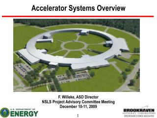 Accelerator Systems Overview