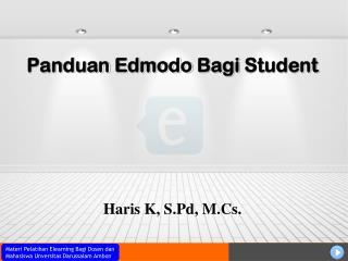 Panduan Edmodo Bagi  Student