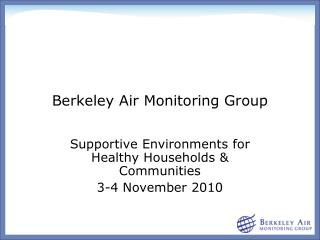 Berkeley Air Monitoring Group