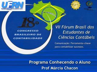 VII Fórum Brasil dos Estudantes de Ciências Contábeis