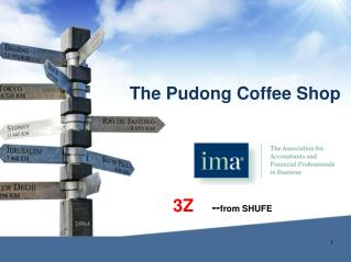 The Pudong Coffee Shop
