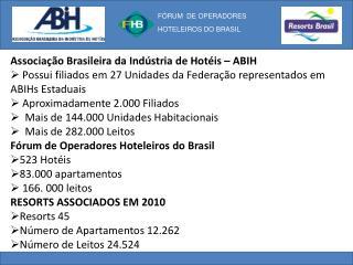 Associação Brasileira da Indústria de Hotéis – ABIH