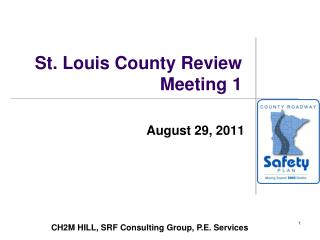 St. Louis County Review Meeting 1