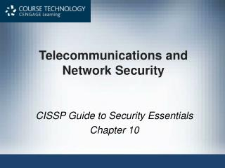 Telecommunications and Network Security